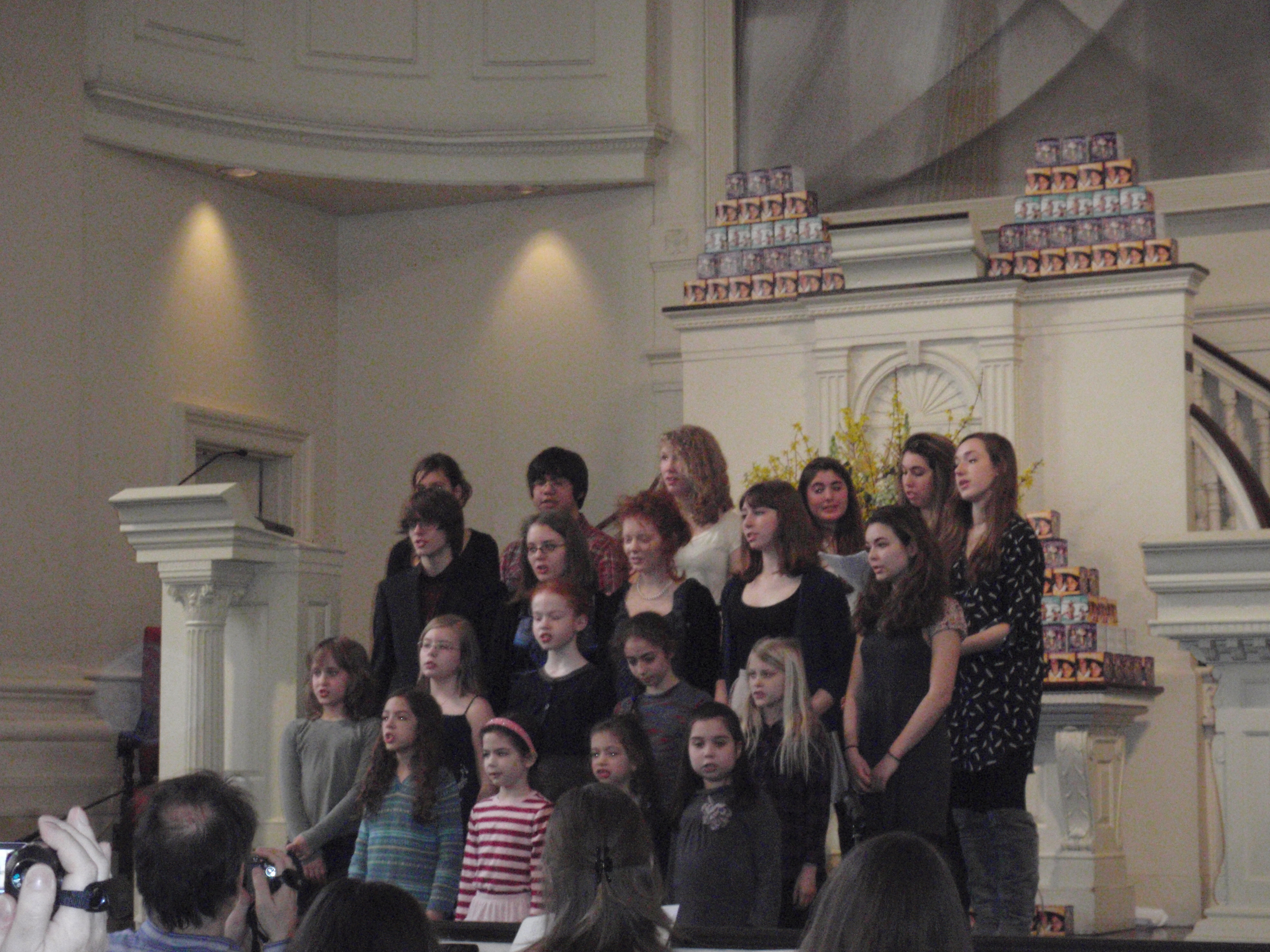 All Souls Children and Youth Concert, conducted by Kristin